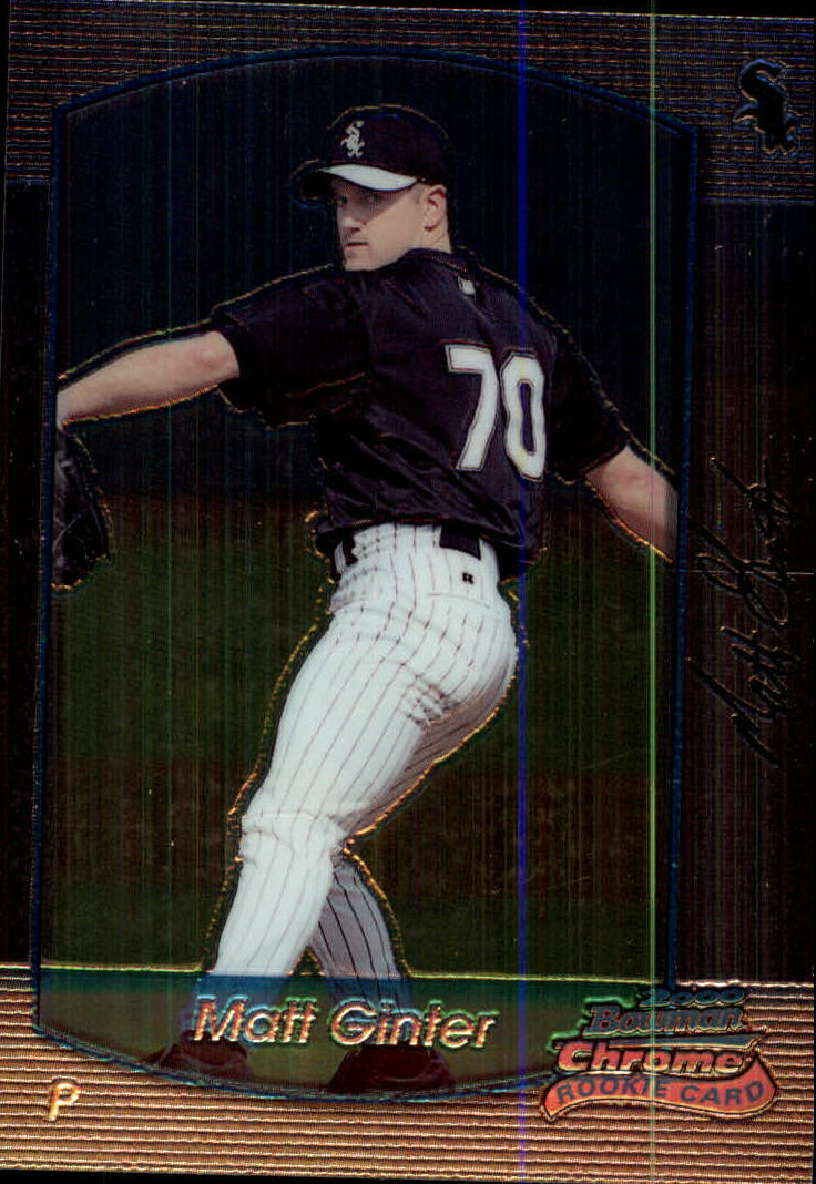 2000 Bowman Chrome #153 Matt Ginter RC