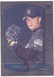 2000 Bowman Chrome #192 Chin-Hui Tsao RC