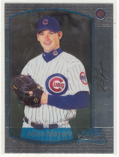 2000 Bowman Chrome #208 Mike Meyers RC