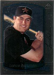 2000 Bowman Chrome #239 Lance Berkman