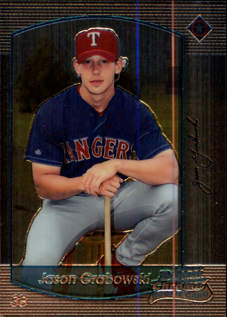 2000 Bowman Chrome #339 Jason Grabowski RC