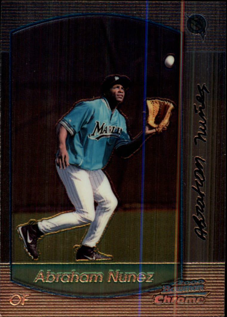 2000 Bowman Chrome #382 Abraham Nunez