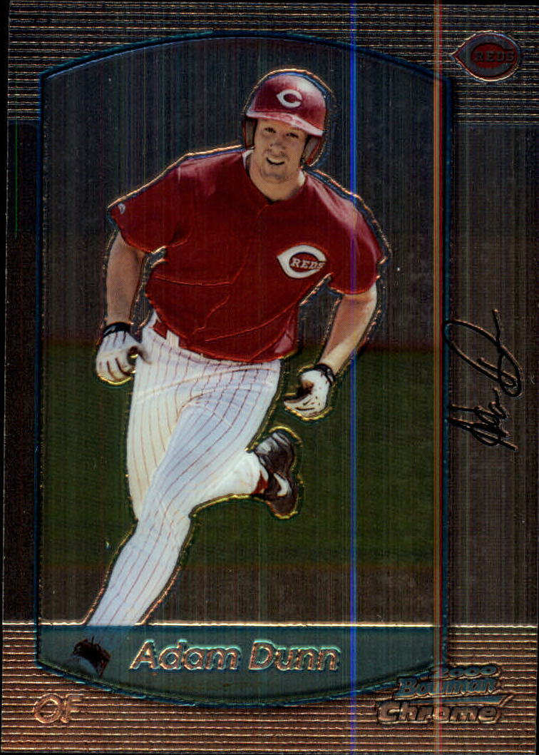 2000 Bowman Chrome #385 Adam Dunn