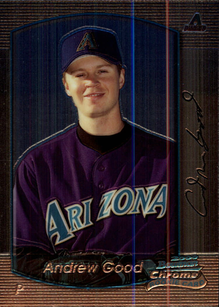 2000 Bowman Chrome #404 Andrew Good RC