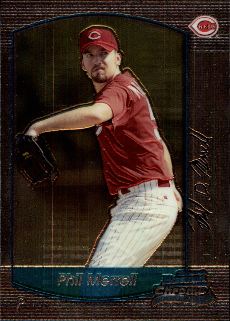 2000 Bowman Chrome Draft #24 Phil Merrell RC