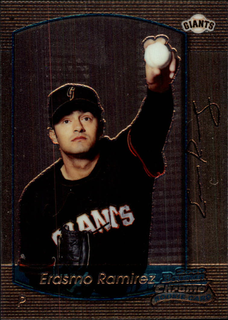 2000 Bowman Chrome Draft #34 Erasmo Ramirez RC