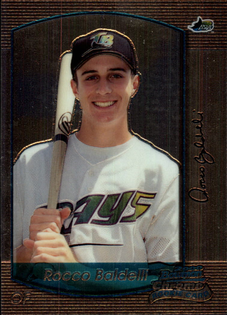 2000 Bowman Chrome Draft #91 Rocco Baldelli RC