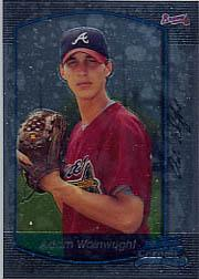 2000 Bowman Chrome Draft #93 Adam Wainwright RC
