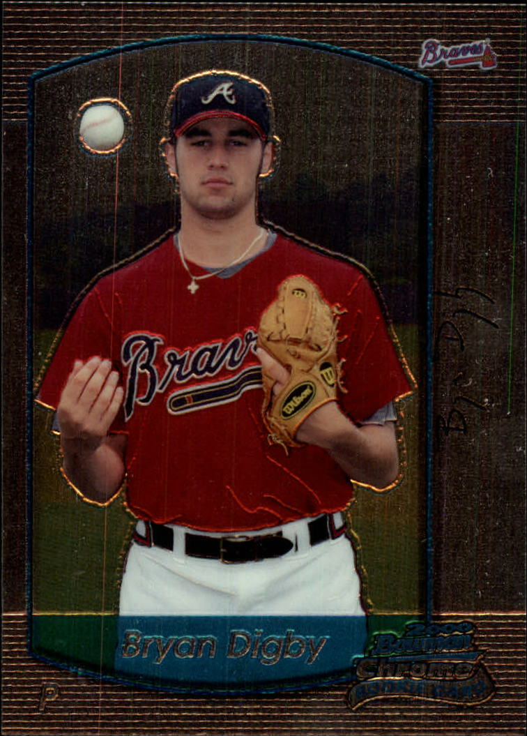 2000 Bowman Chrome Draft #97 Bryan Digby RC