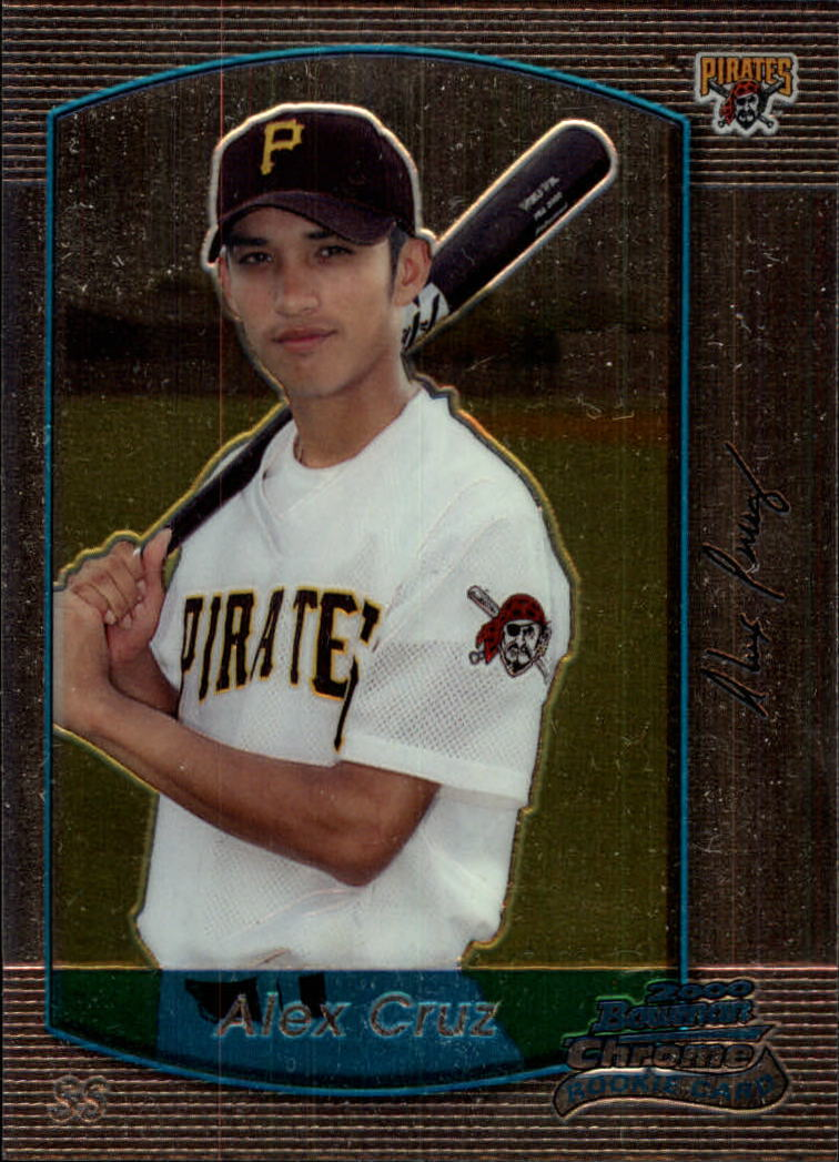2000 Bowman Chrome Draft #100 Alex Cruz RC