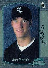 2000 Bowman Chrome Draft #110 Jon Rauch RC