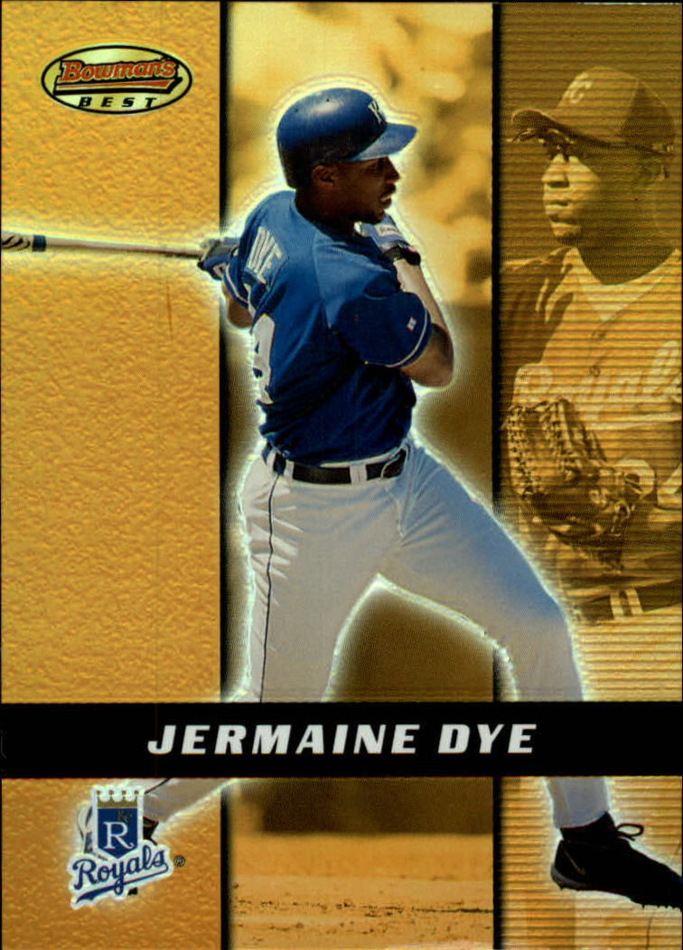 2000 Bowman's Best #6 Jermaine Dye
