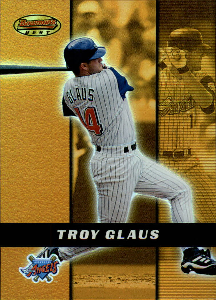 2000 Bowman's Best #11 Troy Glaus