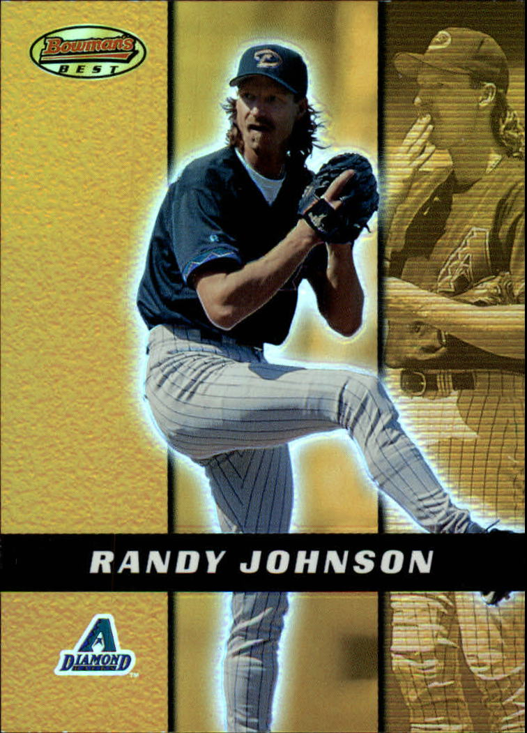2000 Bowman's Best #27 Randy Johnson