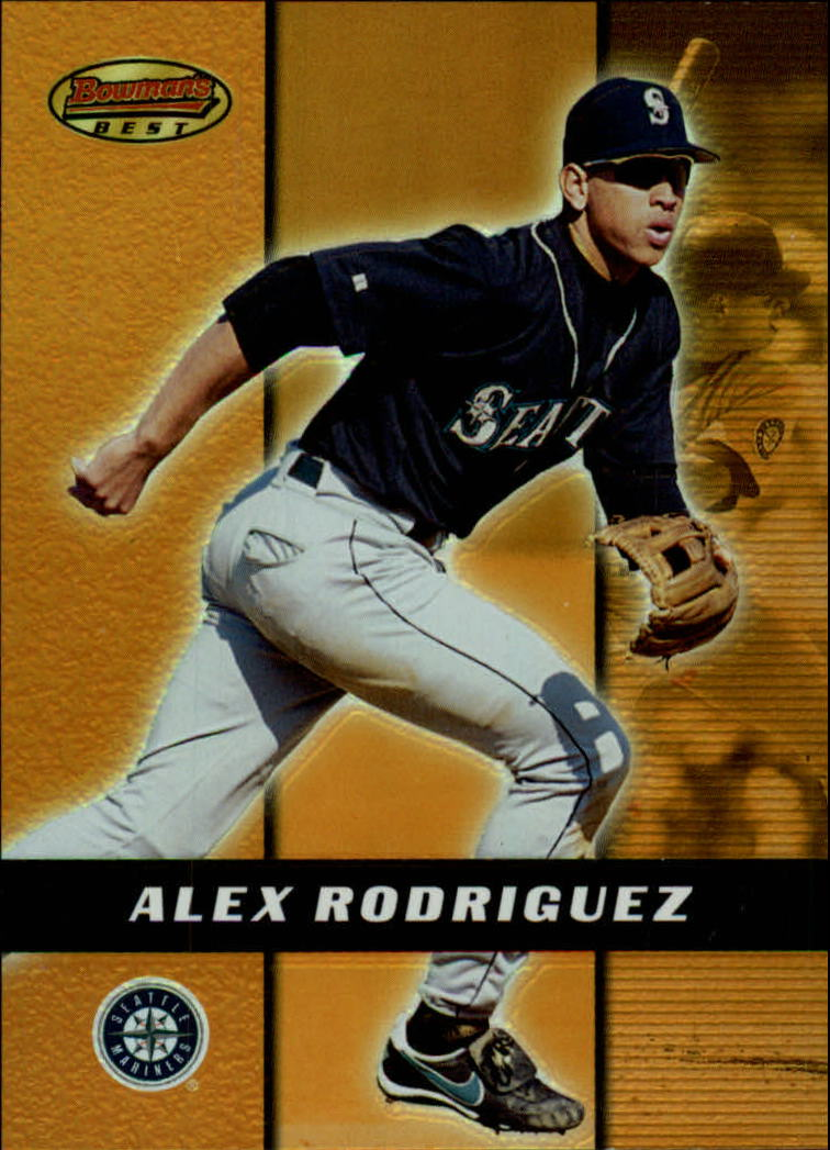 2000 Bowman's Best #55 Alex Rodriguez