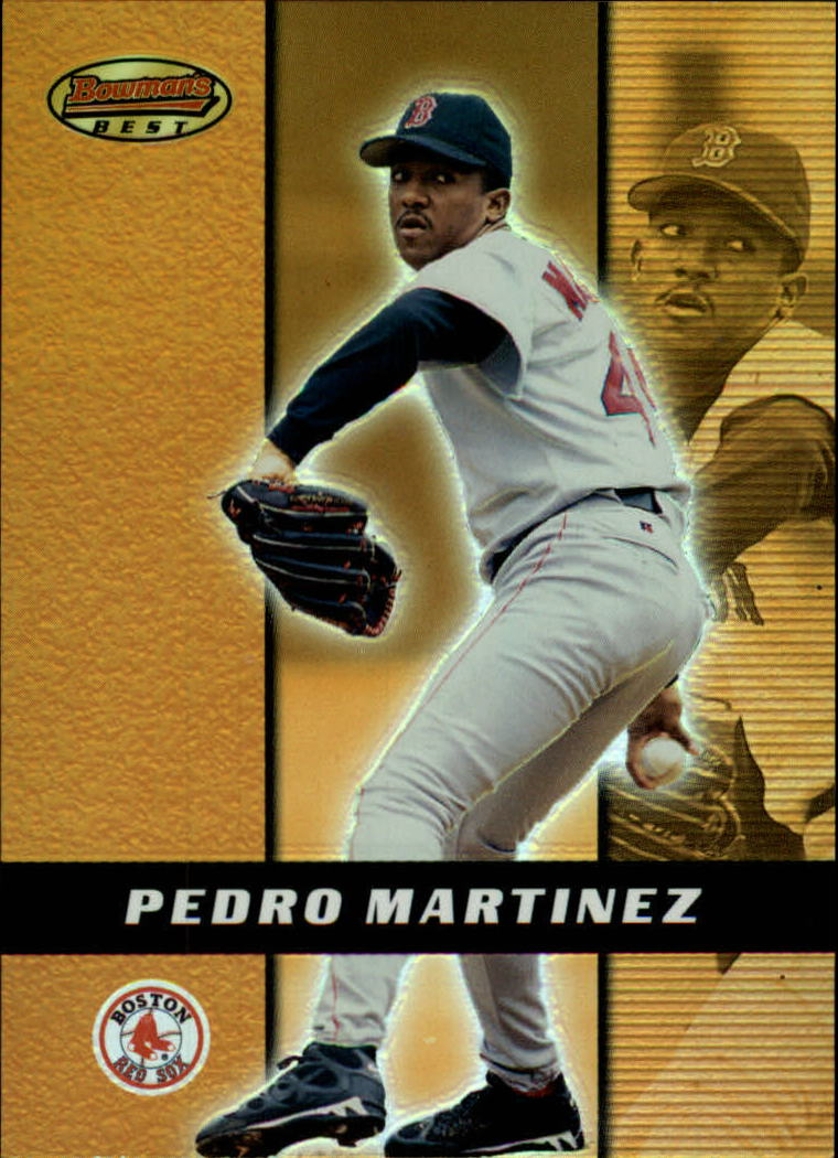 2000 Bowman's Best #65 Pedro Martinez