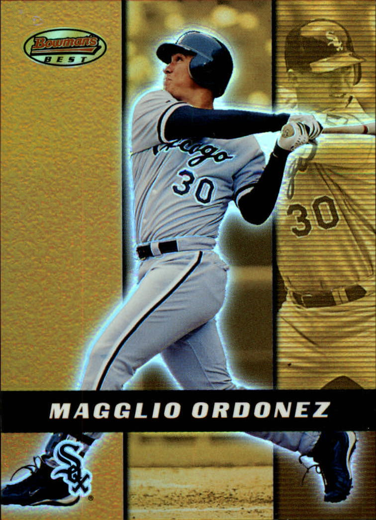 2000 Bowman's Best #69 Magglio Ordonez