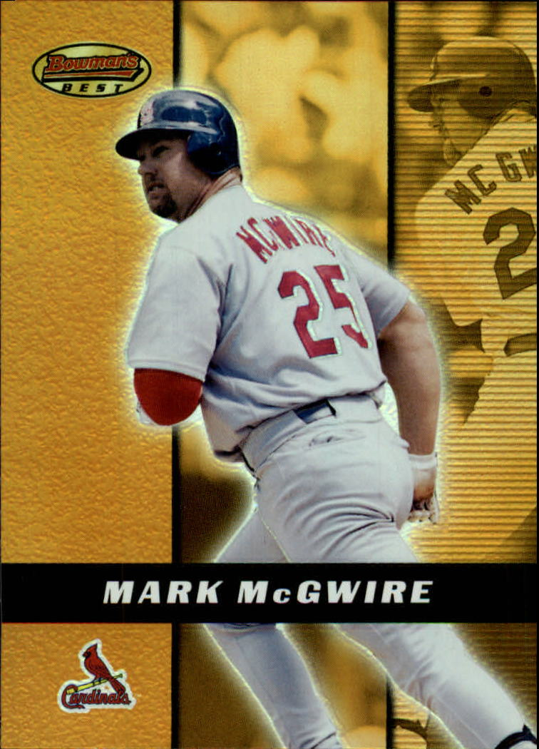 2000 Bowman's Best #81 Mark McGwire