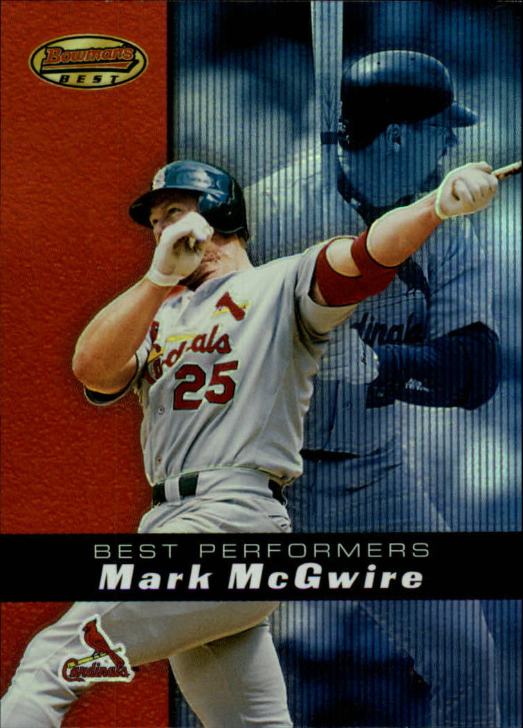 2000 Bowman's Best #86 Mark McGwire BP