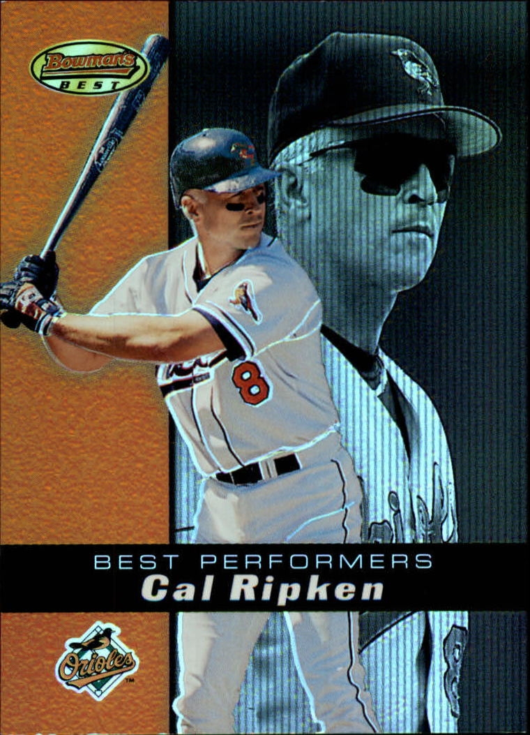 2000 Bowman's Best #91 Cal Ripken BP