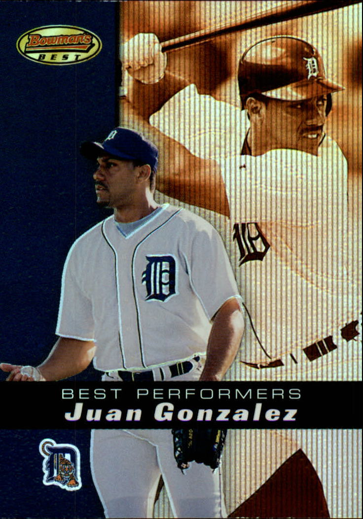 2000 Bowman's Best #92 Juan Gonzalez BP