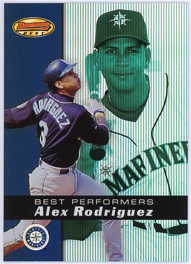 2000 Bowman's Best #93 Alex Rodriguez BP