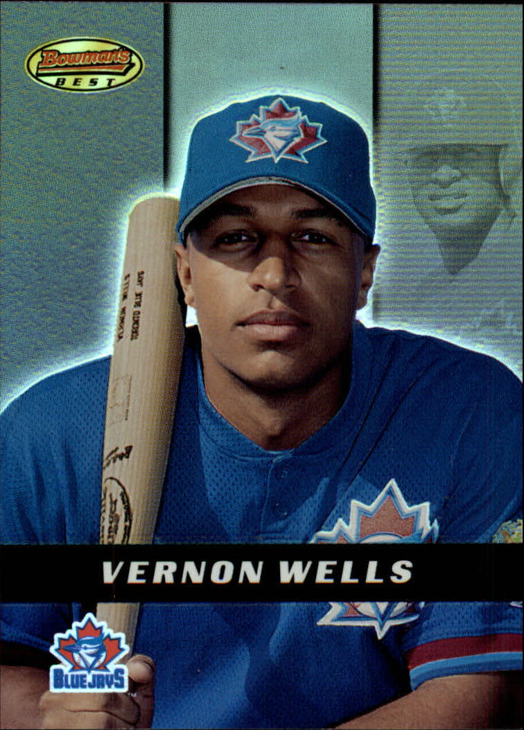 2000 Bowman's Best #112 Vernon Wells