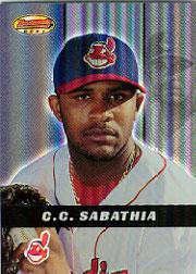 2000 Bowman's Best #118 C.C. Sabathia