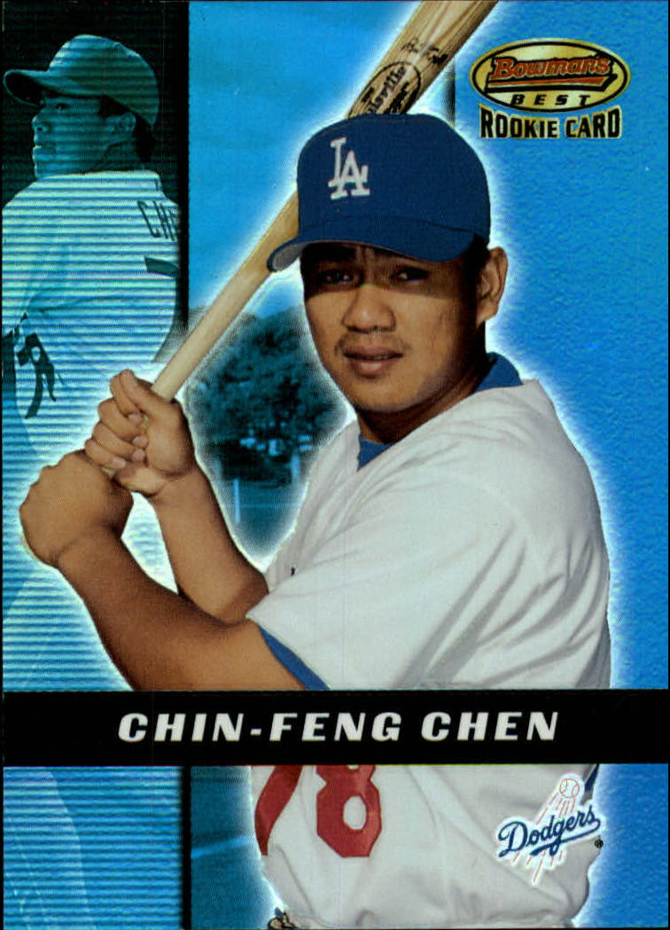 2000 Bowman's Best #190 Chin-Feng Chen RC