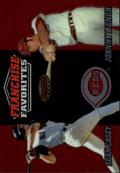 2000 Bowman's Best Franchise Favorites #FR1C S.Casey/J.Bench