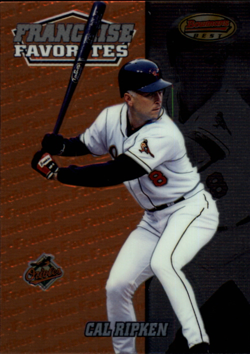 2000 Bowman's Best Franchise Favorites #FR2A Cal Ripken