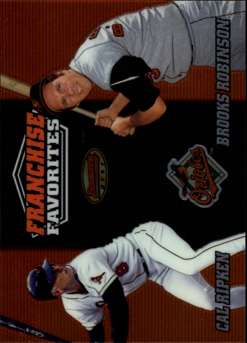 2000 Bowman's Best Franchise Favorites #FR2C C.Ripken/B.Robinson
