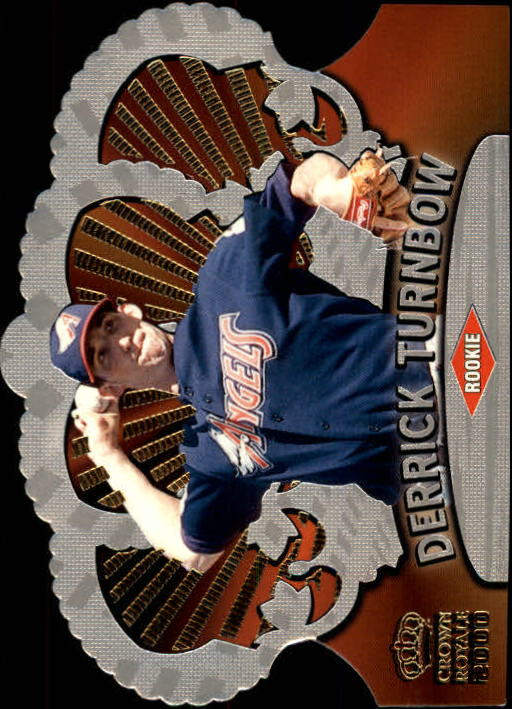 2000 Crown Royale #4 Derrick Turnbow SP RC