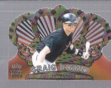 2000 Crown Royale #62 Craig Biggio
