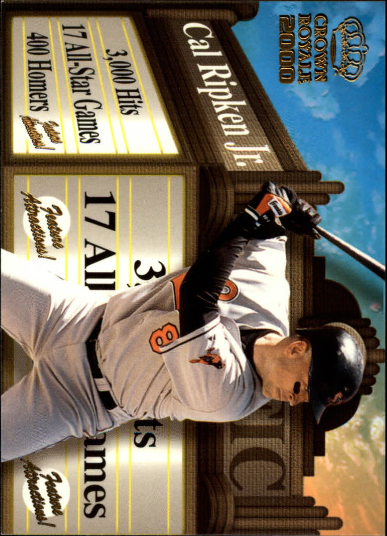 2000 Crown Royale Feature Attractions #4 Cal Ripken