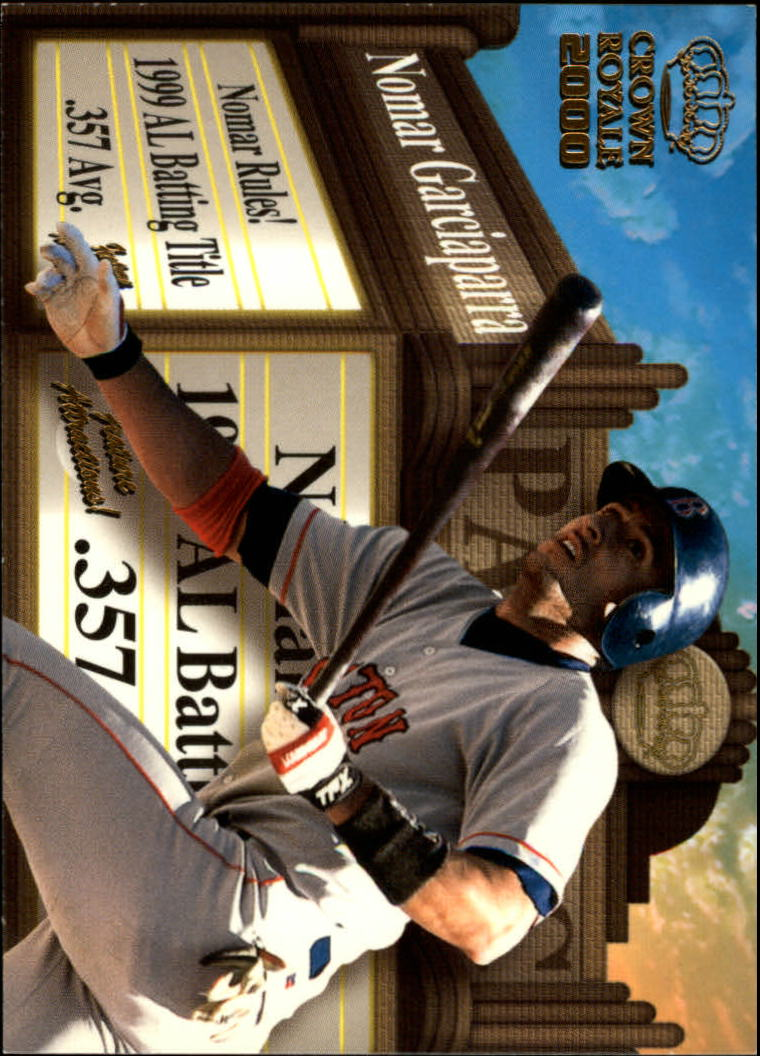 2000 Crown Royale Feature Attractions #5 Nomar Garciaparra
