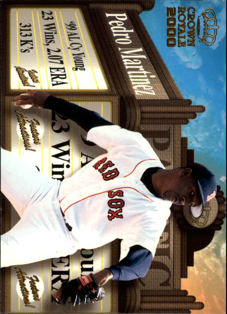2000 Crown Royale Feature Attractions #6 Pedro Martinez