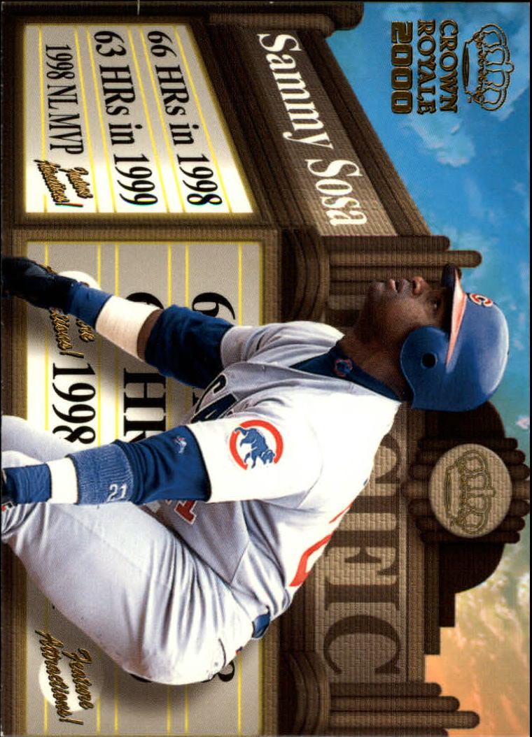 2000 Crown Royale Feature Attractions #7 Sammy Sosa