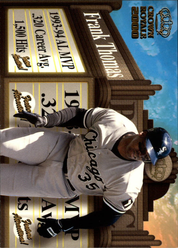 2000 Crown Royale Feature Attractions #8 Frank Thomas