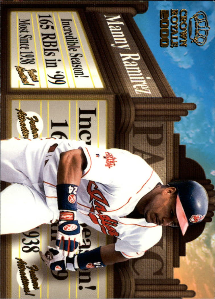 2000 Crown Royale Feature Attractions #10 Manny Ramirez