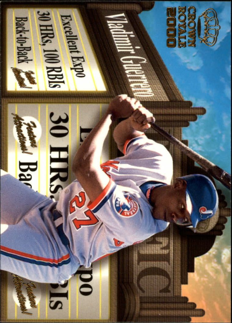 2000 Crown Royale Feature Attractions #16 Vladimir Guerrero