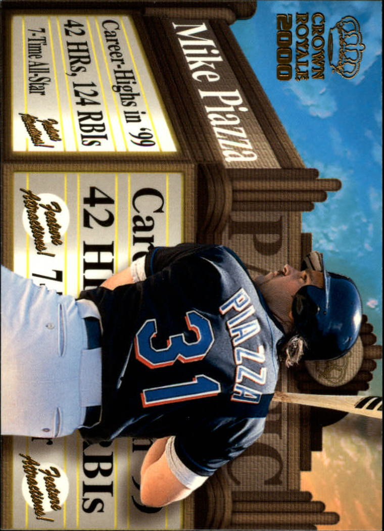 2000 Crown Royale Feature Attractions #17 Mike Piazza