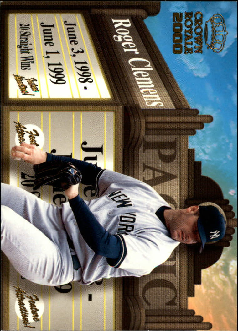 2000 Crown Royale Feature Attractions #18 Roger Clemens