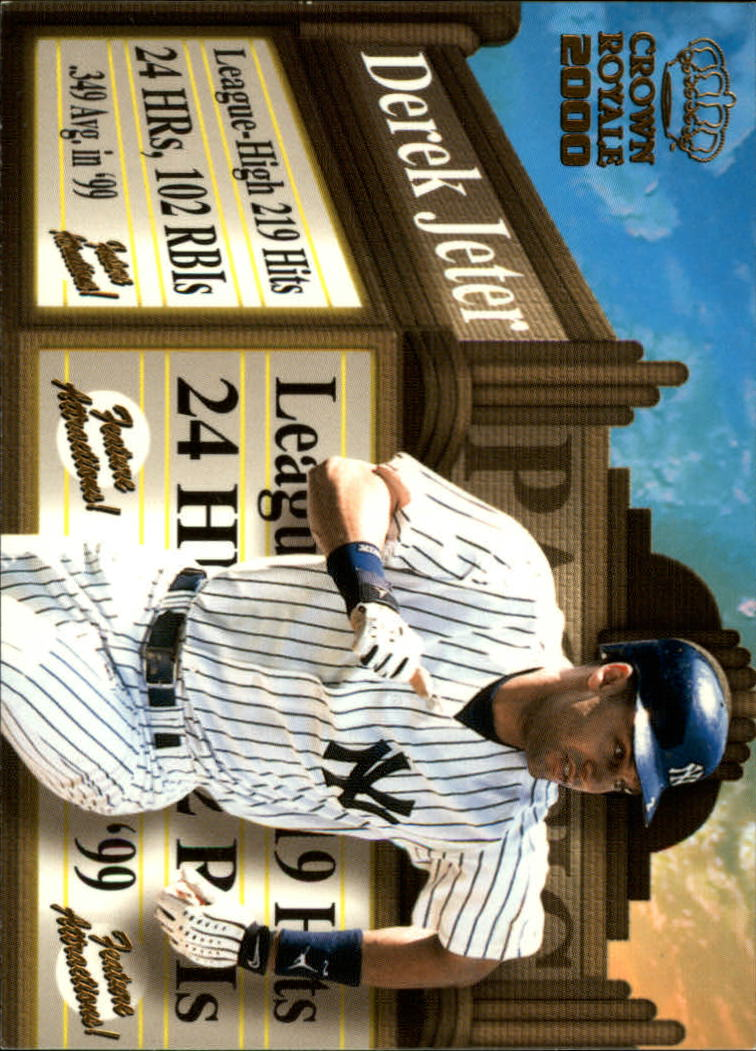 2000 Crown Royale Feature Attractions #19 Derek Jeter