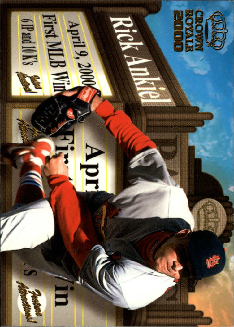 2000 Crown Royale Feature Attractions #21 Rick Ankiel