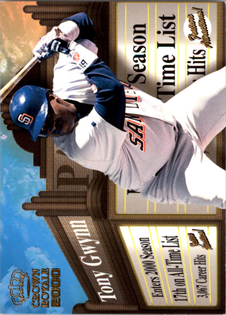 2000 Crown Royale Feature Attractions #23 Tony Gwynn