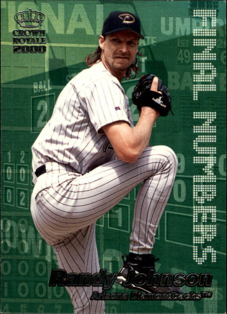 2000 Crown Royale Final Numbers #1 Randy Johnson