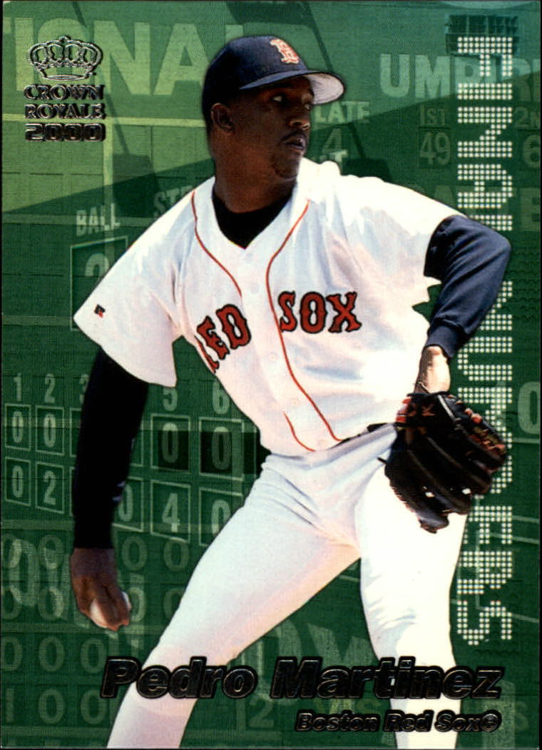 2000 Crown Royale Final Numbers #6 Pedro Martinez