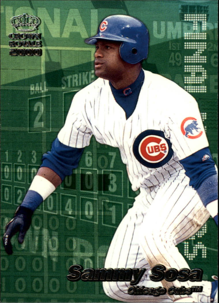 2000 Crown Royale Final Numbers #7 Sammy Sosa
