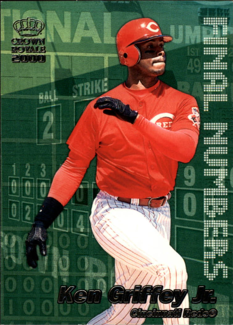 2000 Crown Royale Final Numbers #8 Ken Griffey Jr.